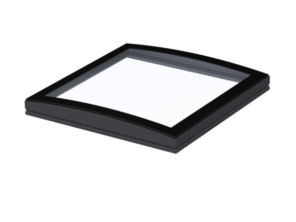 Velux curved glass roof light windows